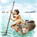 バジャウ族のイラスト
